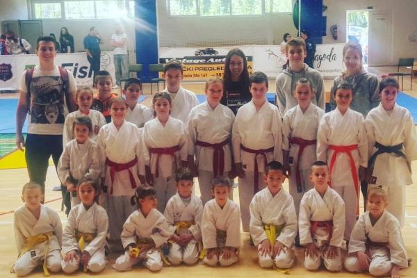 Uskršnji karate kup (Bač) 21.04.2018.
