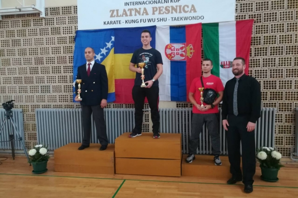 Međunarodni kup Zlatna pesnica (Odžaci) 03.11.2018.