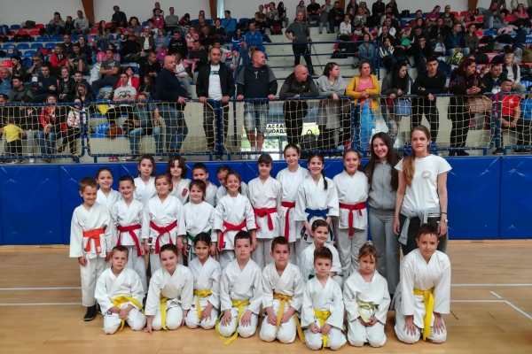 Uskršnji karate kup (Bač) 20.04.2019.